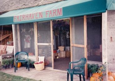 Our former apple shop
