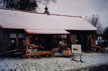 the early days in our former shop