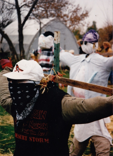 Early Days scarecrow contest