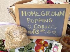 Homegrown Popping Corn