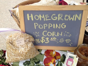 Homegrown Popping Corn